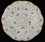 古董麥森手繪溜金盤