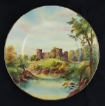 Royal Worcester古堡盤