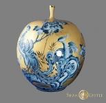 金身藍紋花瓶